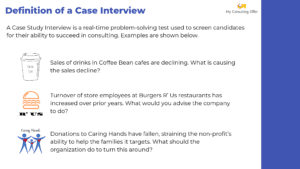 Definition and Examples of a Case Interview Question