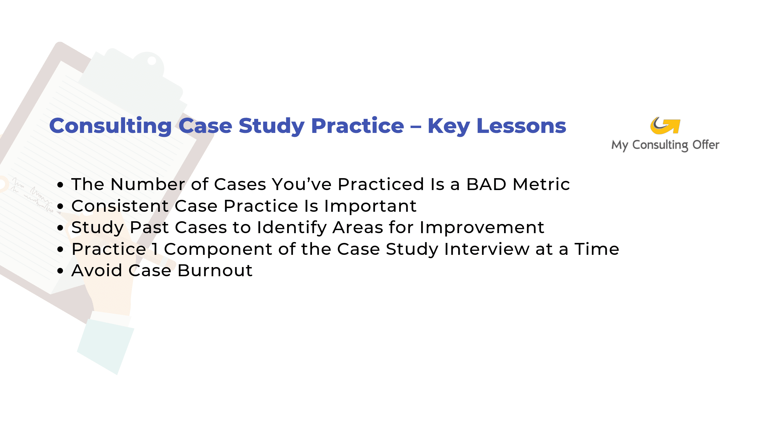 case interview consulting prep Archives | My Consulting Offer