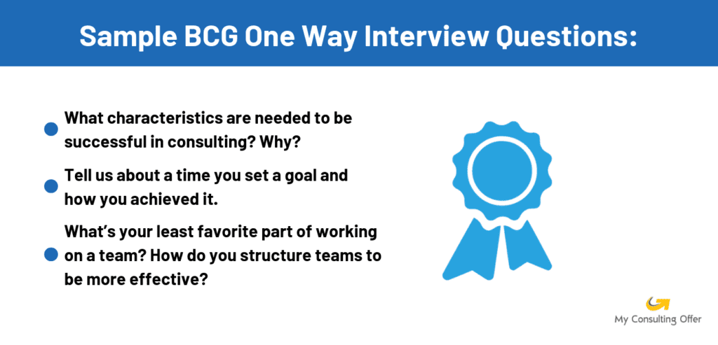 BCG interview questions