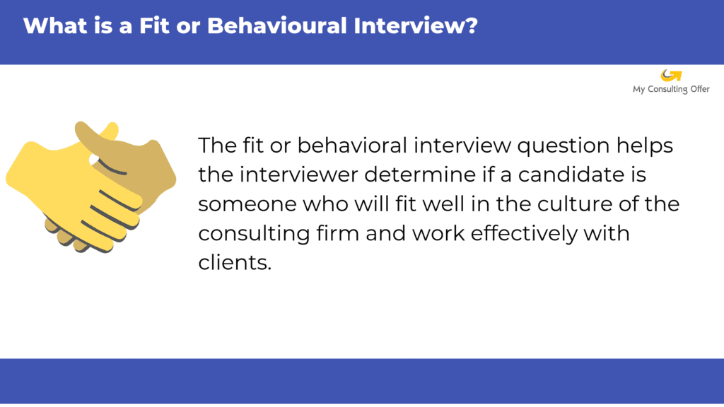 Behavioral interview definition