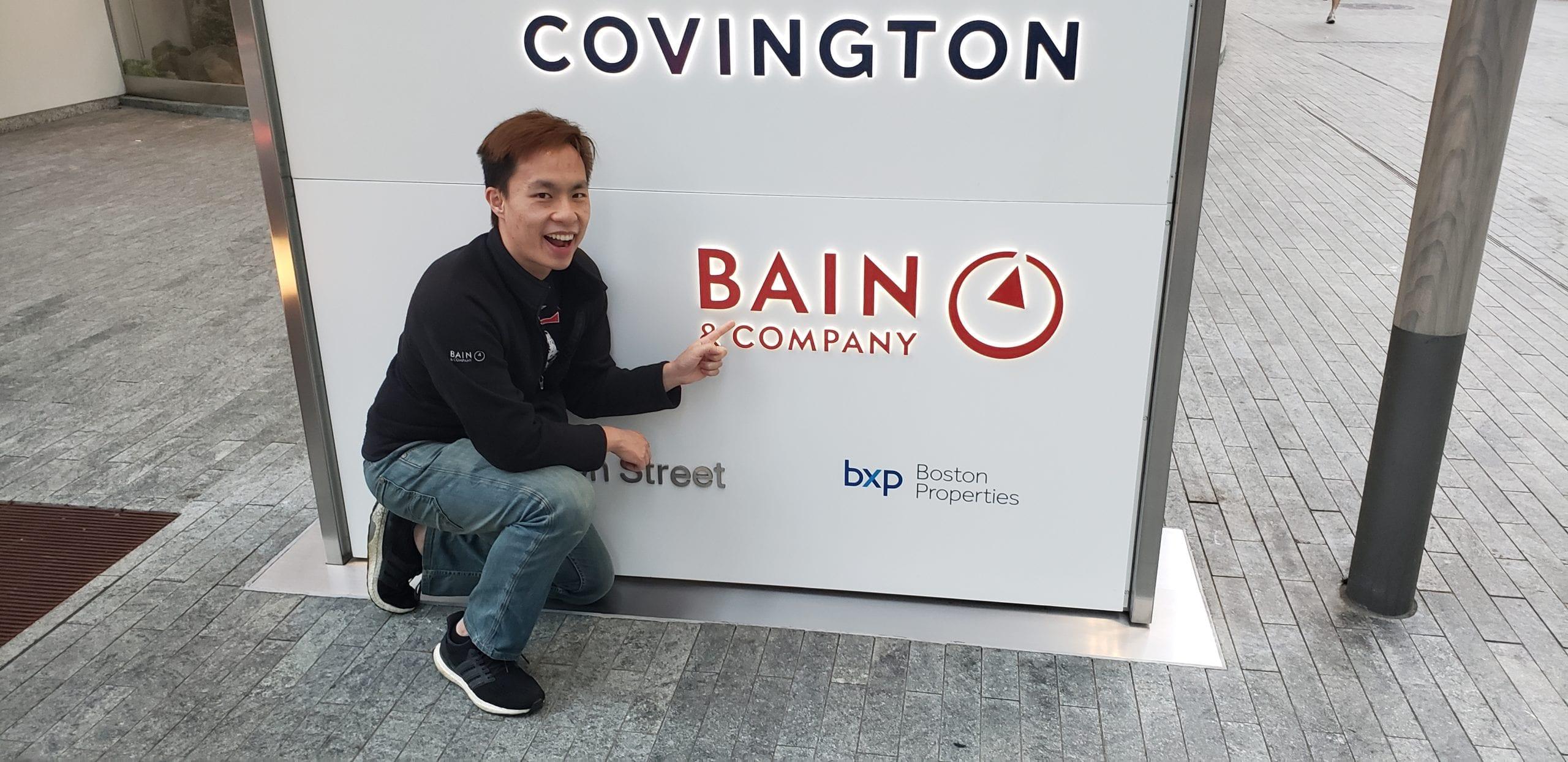 Davis Nguyen at Bain