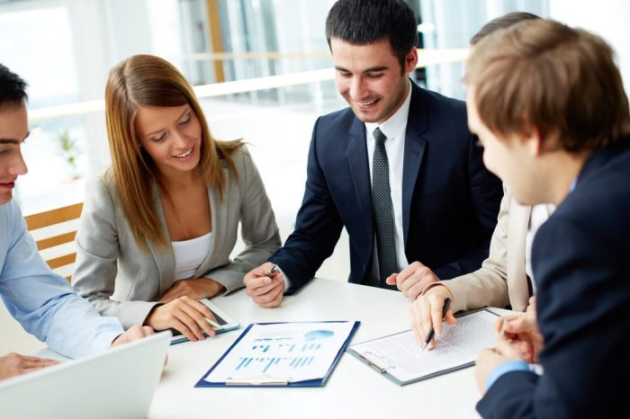 consulting firms toronto people working together