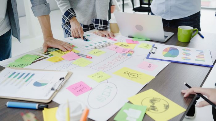 consulting internships examples of people brainstorming ideas